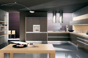Кухня-в-стиле-high-tech