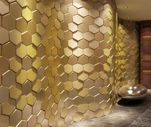 Изменение интерьера с помощью стеновых 3D панелей