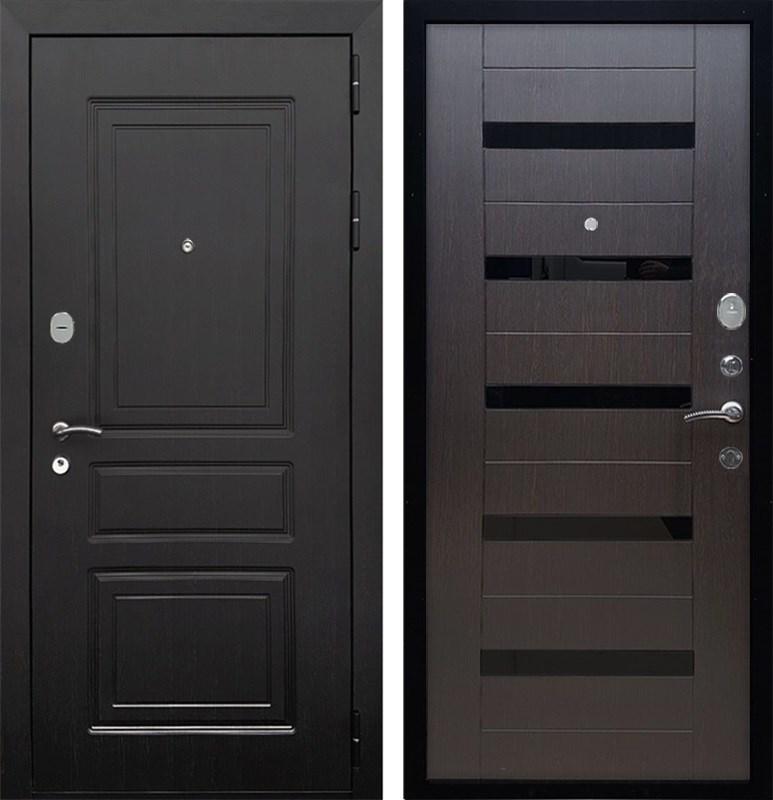 Входная металлическая дверь Армада Лондон СБ-14 (Венге / Венге)