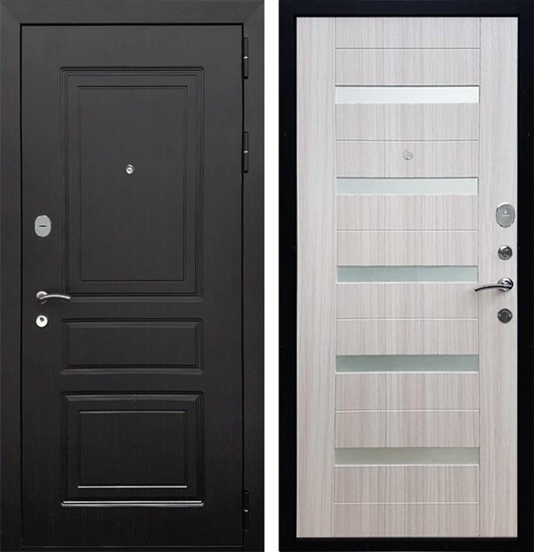 Входная металлическая дверь Армада Лондон СБ-14 (Венге / Сандал белый)