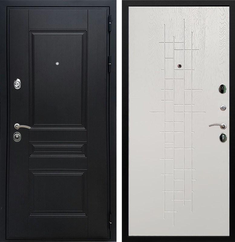 Входная металлическая дверь Армада Премиум Н (Венге / Роял Вуд белый)