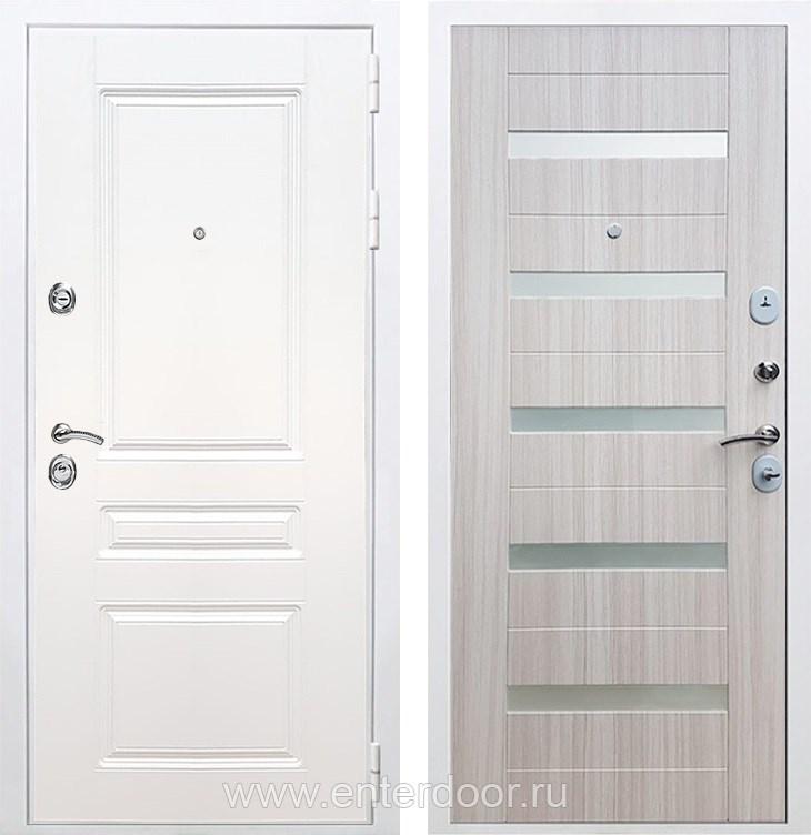 Входная металлическая дверь Армада Премиум Н СБ-14 (Белый / Сандал белый)