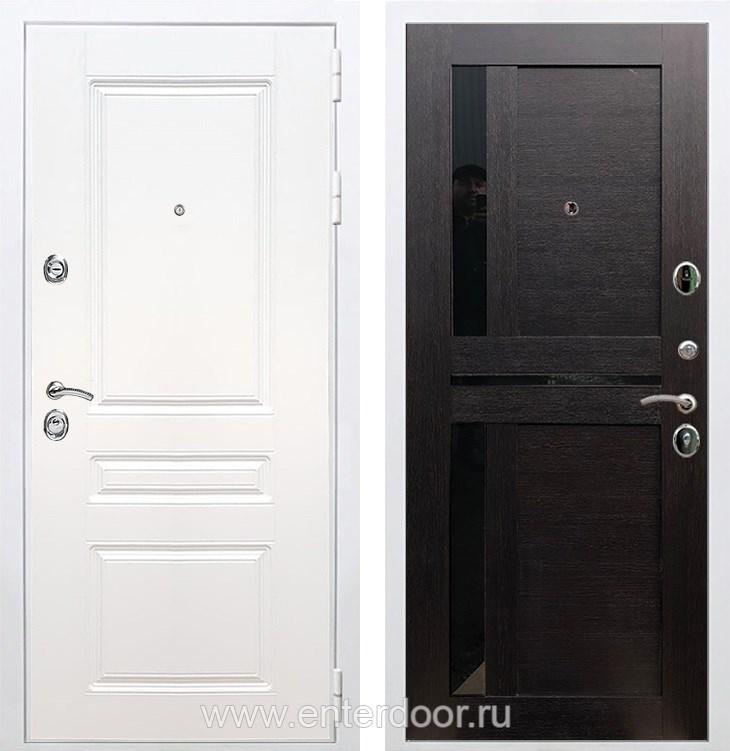 Входная металлическая дверь Армада Премиум Н СБ-18 (Белый / Венге)