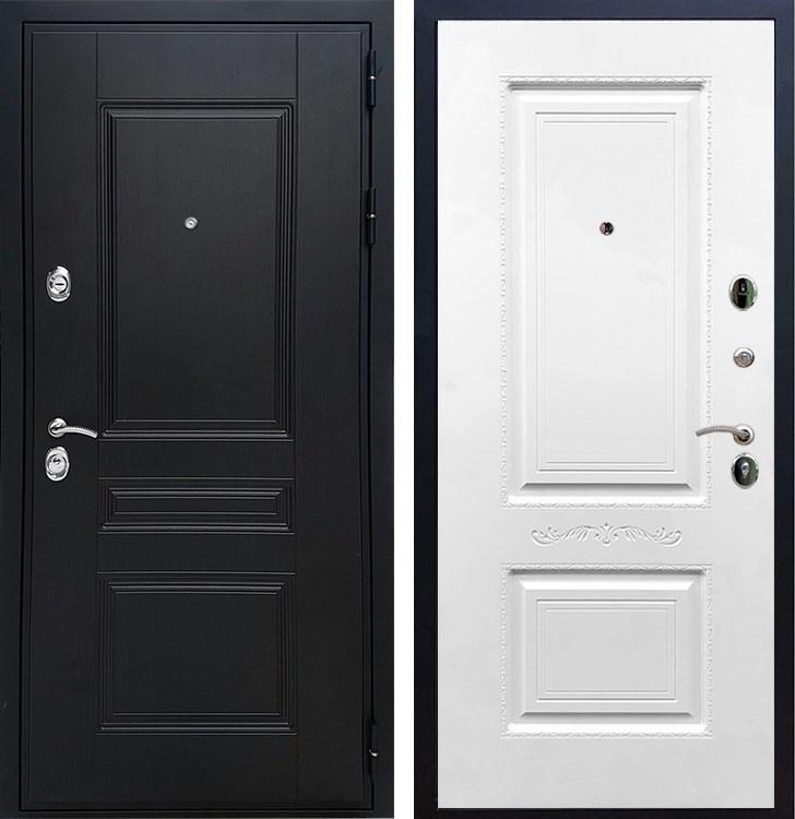 Входная металлическая дверь Армада Премиум Н Смальта 04 (Венге / Белый силк сноу)