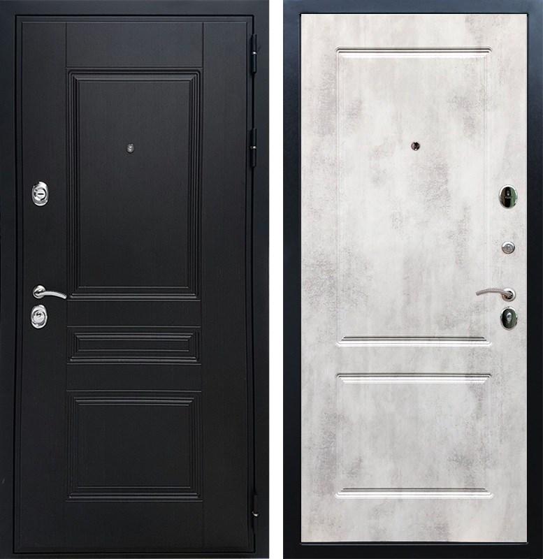 Входная металлическая дверь Армада Премиум Н ФЛ-117 (Венге / Бетон светлый)