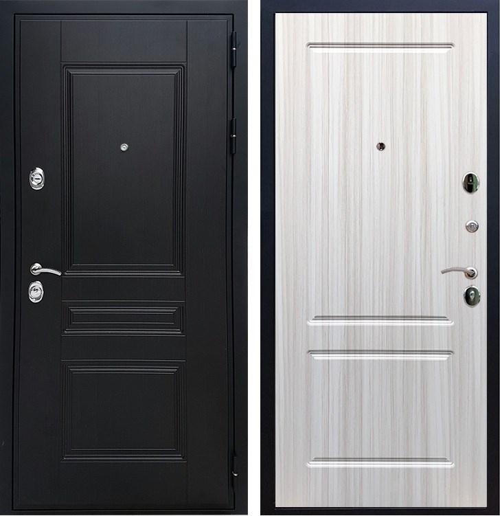 Входная металлическая дверь Армада Премиум Н ФЛ-117 (Венге / Сандал белый)