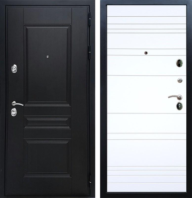 Входная металлическая дверь Армада Премиум Н ФЛ-14 (Венге / Белый софт)