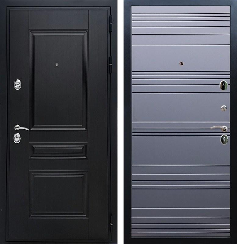 Входная металлическая дверь Армада Премиум Н ФЛ-14 (Венге / Графит софт)