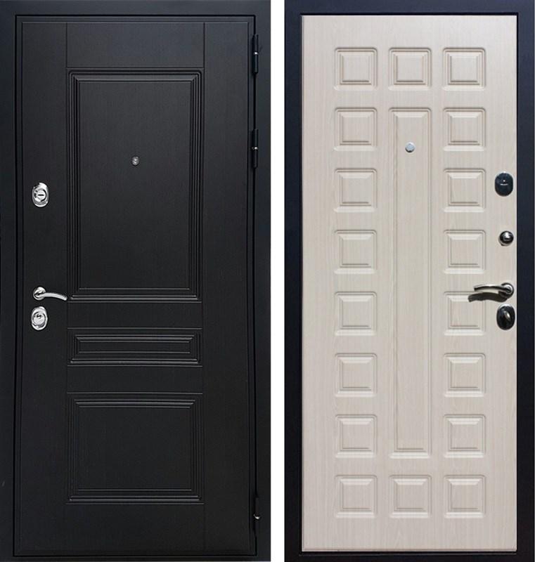 Входная металлическая дверь Армада Премиум Н ФЛ-183 (Венге / Дуб беленый)