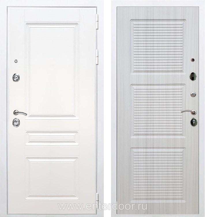 Входная металлическая дверь Армада Премиум Н ФЛ-1 (Белый / Сандал белый)