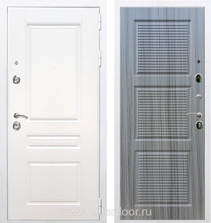 Входная металлическая дверь Армада Премиум Н ФЛ-1 (Белый / Сандал серый)