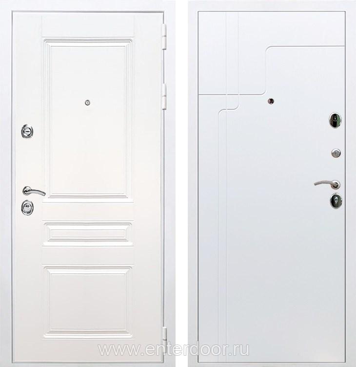Входная металлическая дверь Армада Премиум Н ФЛ-246 (Белый / Белый софт)