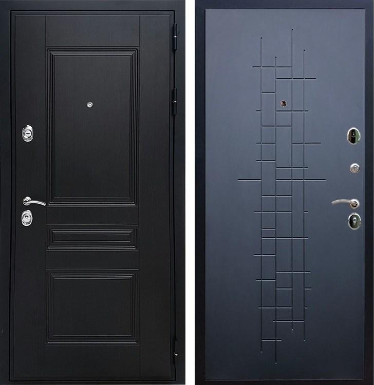 Входная металлическая дверь Армада Премиум Н ФЛ-289 (Венге / Ясень чёрный)
