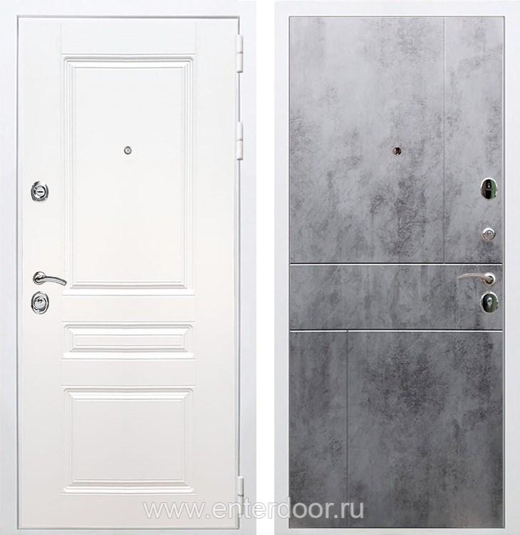 Входная металлическая дверь Армада Премиум Н ФЛ-290 (Белый / Бетон тёмный)