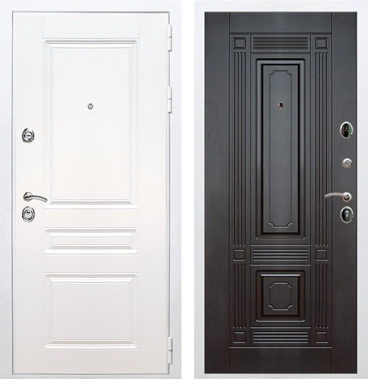 Входная металлическая дверь Армада Премиум Н ФЛ-2 (Белый / Венге)