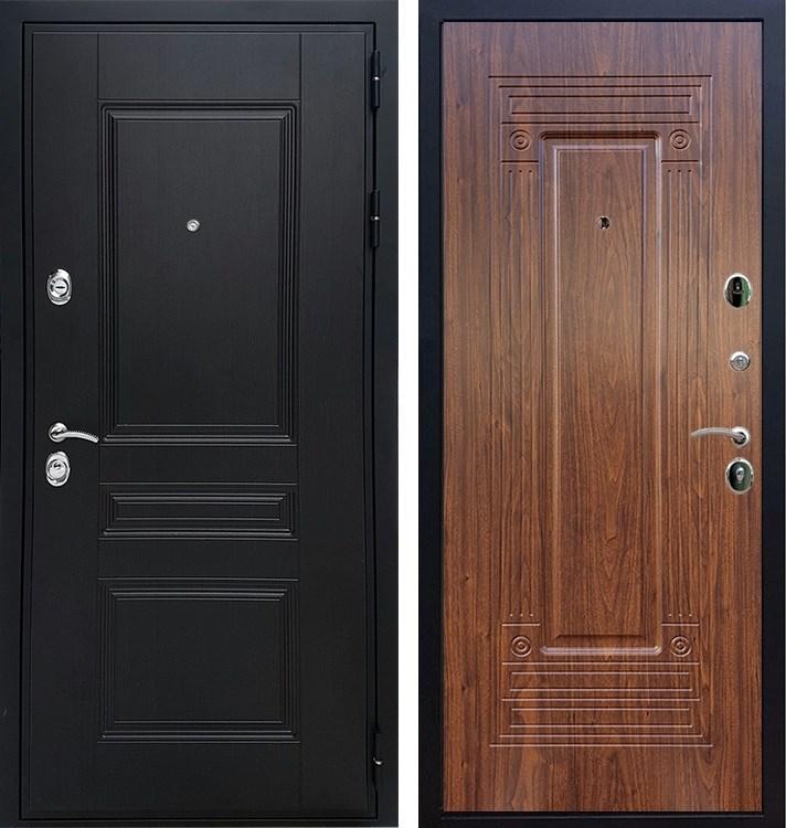 Входная металлическая дверь Армада Премиум Н ФЛ-4 (Венге / Берёза морёная)