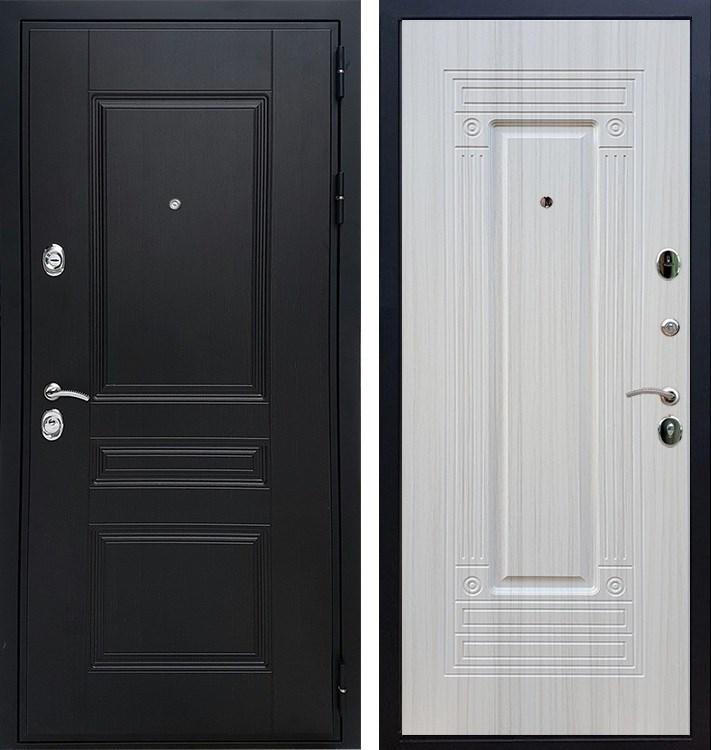 Входная металлическая дверь Армада Премиум Н ФЛ-4 (Венге / Лиственница беж)