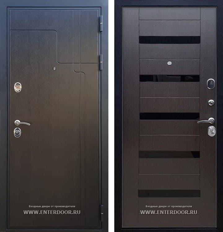 Входная металлическая дверь Армада Премиум 246 СБ-14 (Венге / Венге)