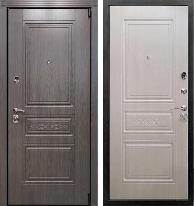 Входная металлическая дверь Армада Премиум S (Лиственница серая / Лиственница беж)