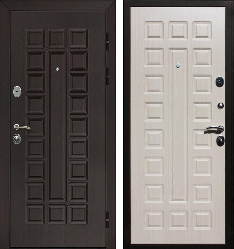 Входная металлическая дверь Армада Сенатор (Венге / Беленый дуб)