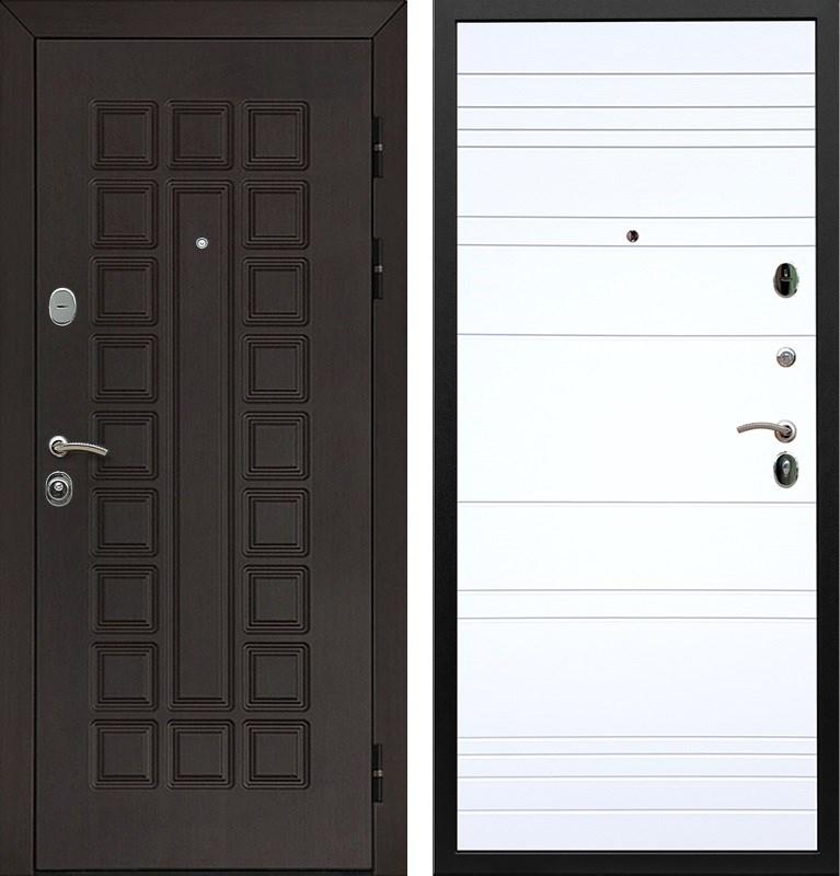 Входная металлическая дверь Армада Сенатор ФЛ-14 (Венге / Белый софт)
