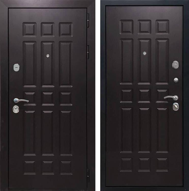 Входная металлическая дверь Армада Сенатор 8 (Венге / Венге)