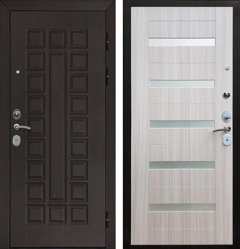 Входная металлическая дверь Армада Сенатор Cisa СБ-14 (Венге / Сандал белый)