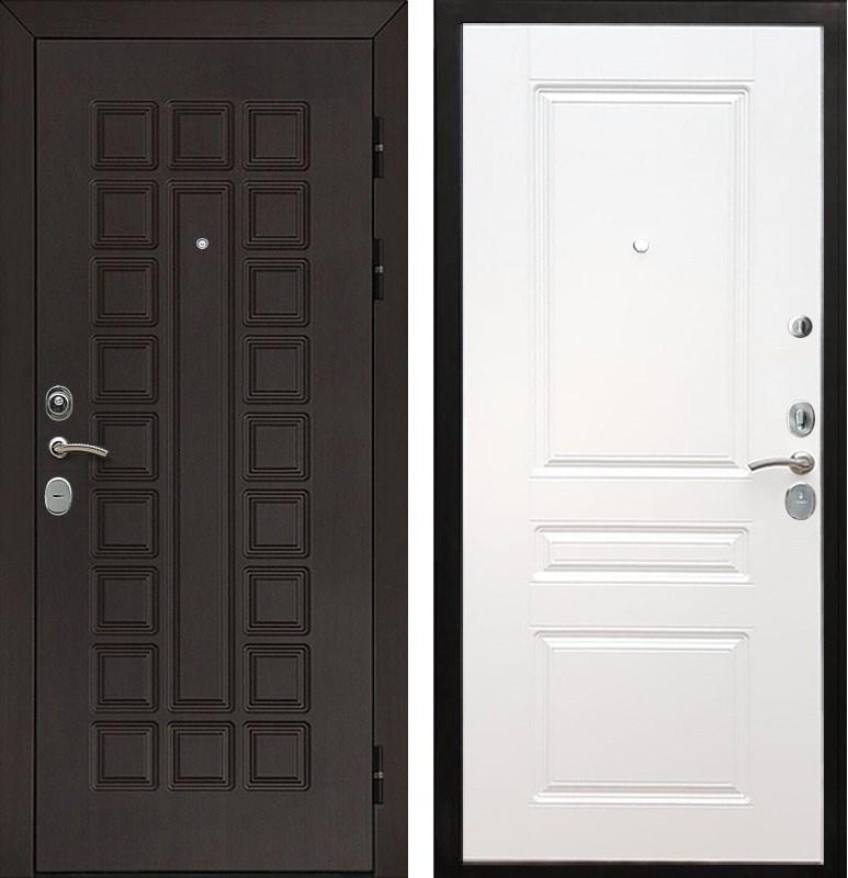 Входная металлическая дверь Армада Сенатор Cisa ФЛ-243 (Венге / Белый силк сноу)