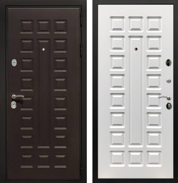 Входная металлическая дверь Армада Триумф 3К (Венге / Белый ясень)