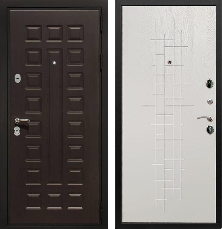 Входная металлическая дверь Армада Триумф 3К (Венге / Роял Вуд белый)