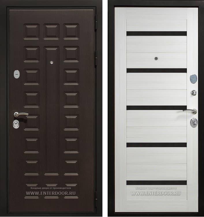 Входная металлическая дверь Армада Триумф 3К СБ-14 (Венге / Лиственница беж)
