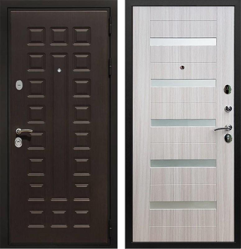 Входная металлическая дверь Армада Триумф 3К СБ-14 (Венге / Сандал белый)