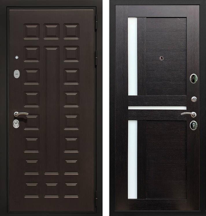 Входная металлическая дверь Армада Триумф 3К СБ-18 (Венге / Венге)
