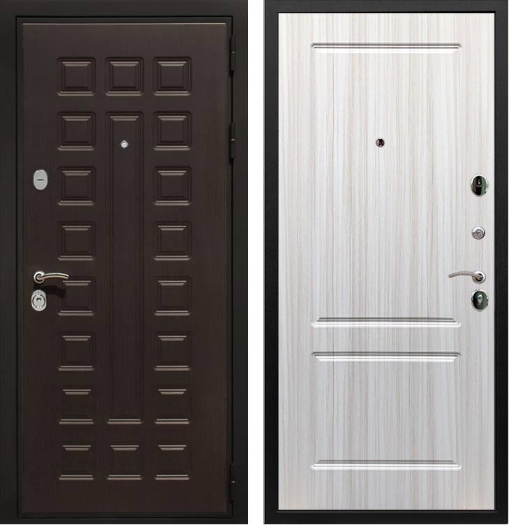 Входная металлическая дверь Армада Триумф 3К ФЛ-117 (Венге / Сандал белый)