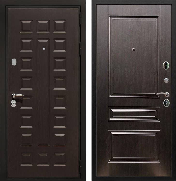 Входная металлическая дверь Армада Триумф 3К ФЛ-243 (Венге / Венге)