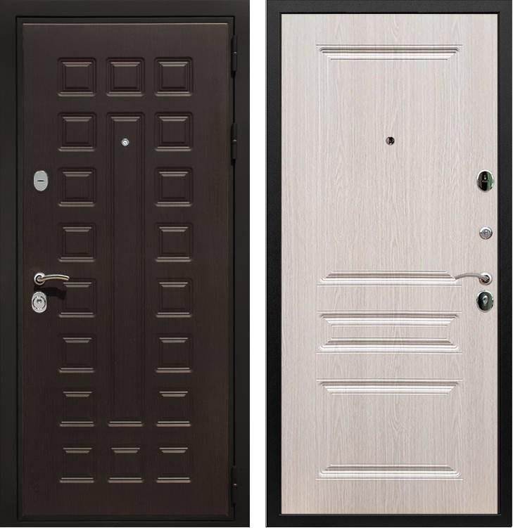 Входная металлическая дверь Армада Триумф 3К ФЛ-243 (Венге / Дуб белёный)