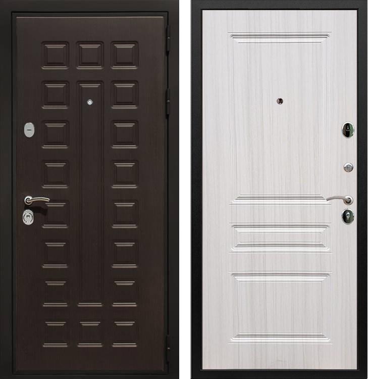 Входная металлическая дверь Армада Триумф 3К ФЛ-243 (Венге / Сандал белый)