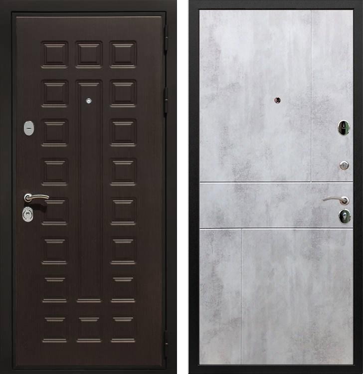 Входная металлическая дверь Армада Триумф 3К ФЛ-290 (Венге / Бетон светлый)
