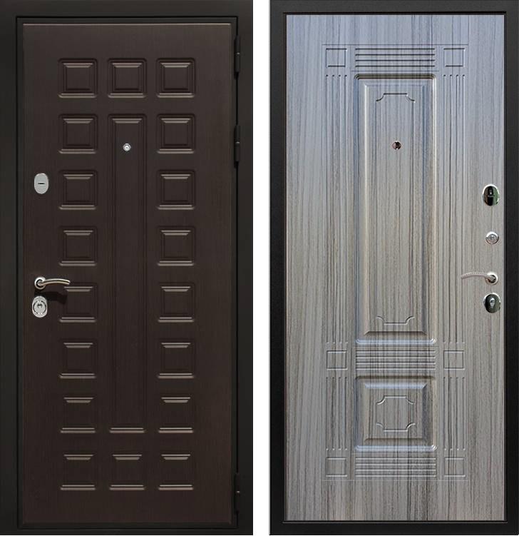 Входная металлическая дверь Армада Триумф 3К ФЛ-2 (Венге / Сандал серый)