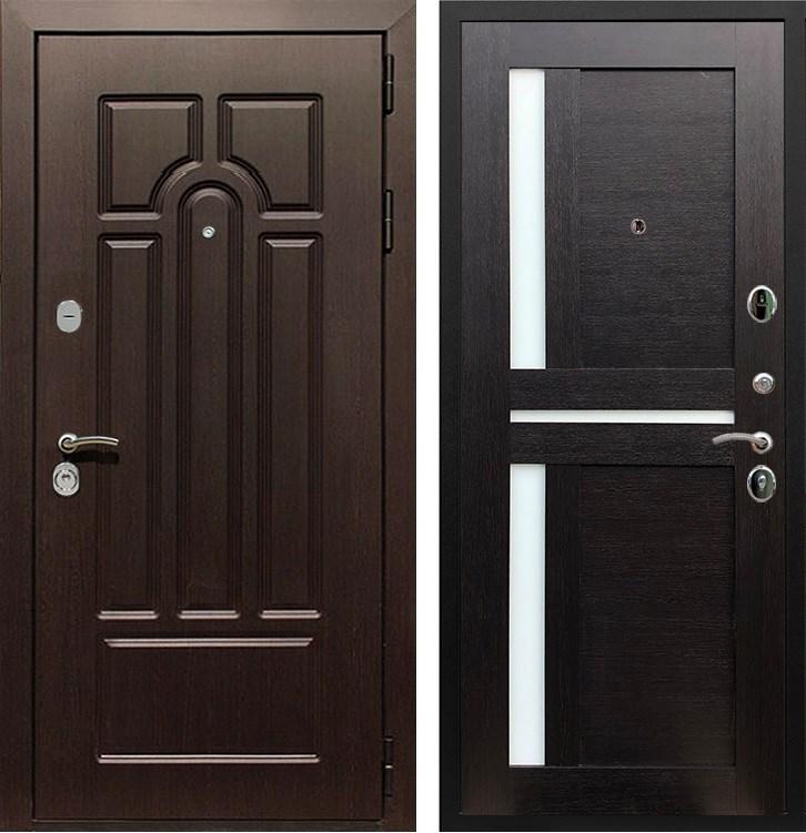Входная металлическая дверь Армада Эврика 3К СБ-18 (Венге / Венге)