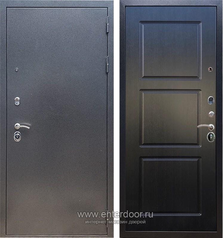 Входная металлическая дверь Армада 11 ФЛ-3 (Антик серебро / Венге)