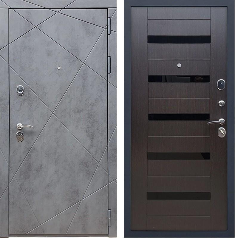 Входная металлическая дверь Армада 13 СБ-14 (Бетон тёмный / Венге)