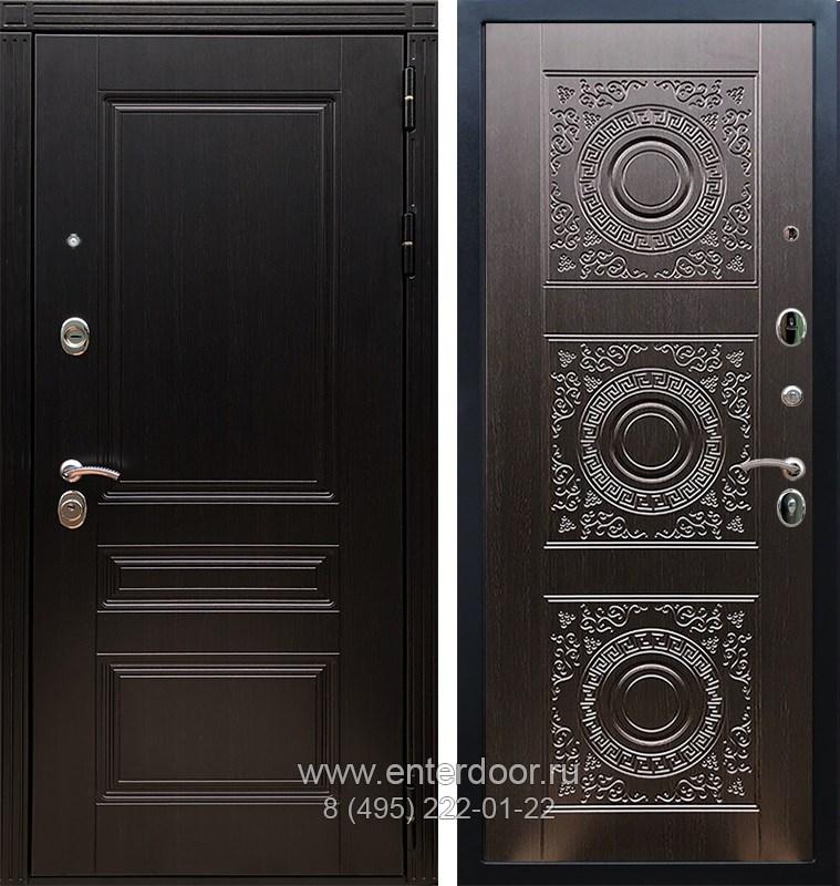 Входная металлическая дверь Армада 17 Мегаполис Д-18 (Венге / Венге)