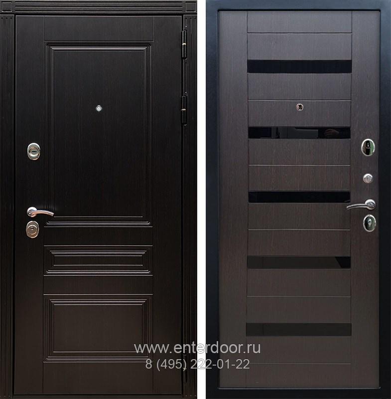Входная металлическая дверь Армада 17 Мегаполис СБ-14 (Венге / Венге)