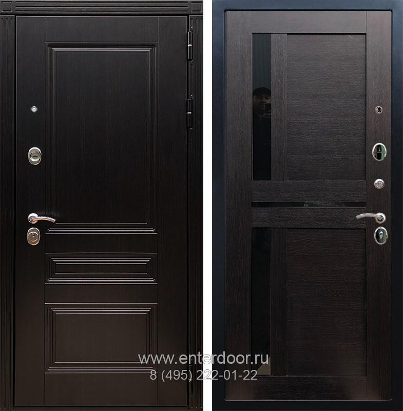 Входная металлическая дверь Армада 17 Мегаполис СБ-18 (Венге / Венге)