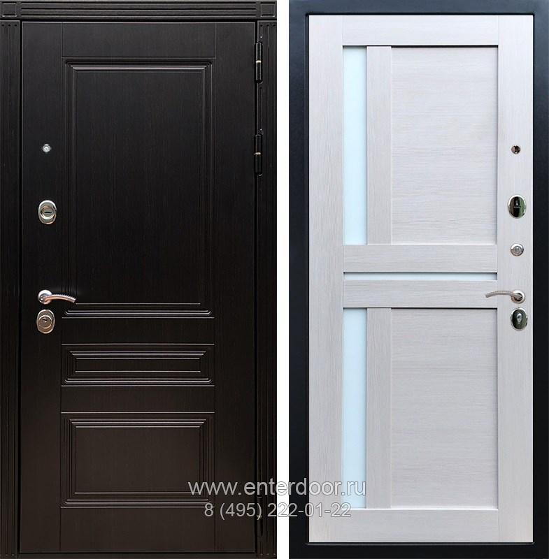 Входная металлическая дверь Армада 17 Мегаполис СБ-18 (Венге / Лиственница беж)
