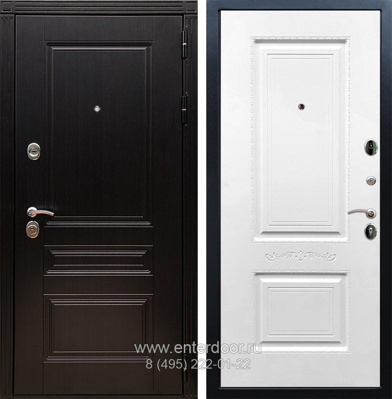 Входная металлическая дверь Армада 17 Мегаполис Смальта 04 (Венге / Белый силк сноу)