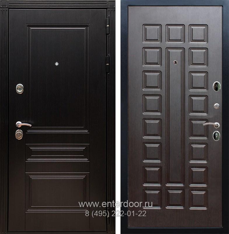 Входная металлическая дверь Армада 17 Мегаполис ФЛ-183 (Венге / Венге)