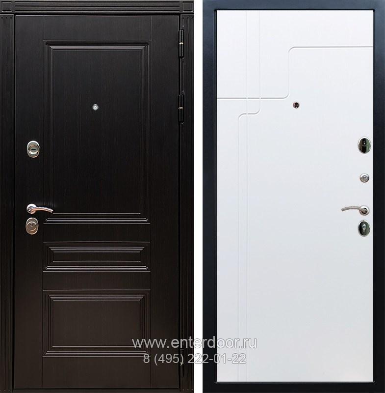 Входная металлическая дверь Армада 17 Мегаполис ФЛ-246 (Венге / Белый софт)