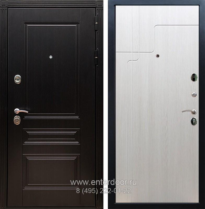 Входная металлическая дверь Армада 17 Мегаполис ФЛ-246 (Венге / Лиственница беж)